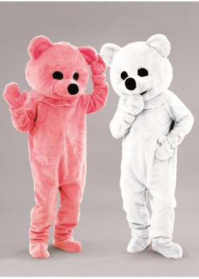 Softy Bear Mascot Costume