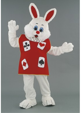 Wonderland Rabbit Mascot Costume