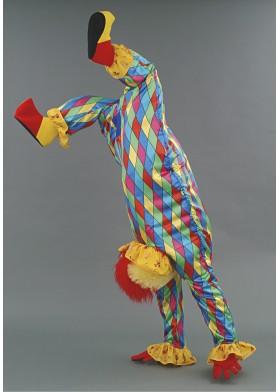 Upside down Clown illusion Mascot Costume