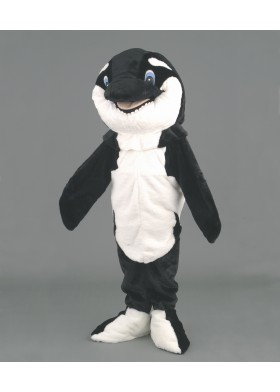 Willy the Whale Mascot Costume