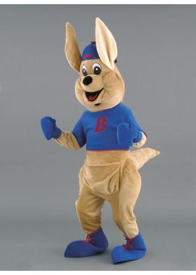 Thumper Kangaroo Mascot Costume