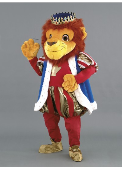 King Lion Mascot Costume