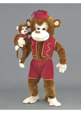 Marvin the Monkey Mascot Costume