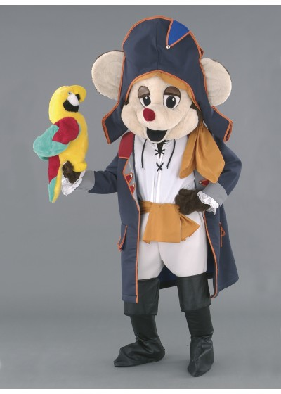 Mouse Mascot Costume - Pirate Mouse