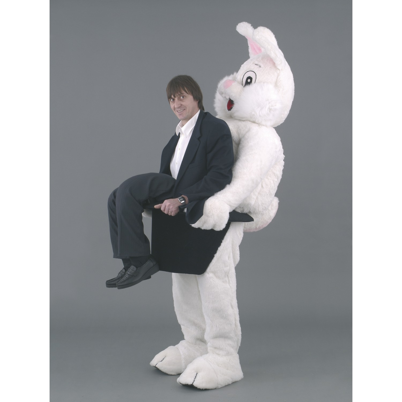 sc 1 st  Mascot Costumes & Rabbit Ride on illusion Mascot Costume