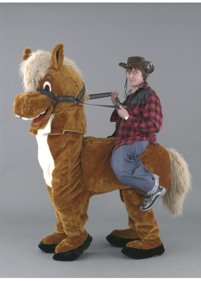 Panto Illusion Horse 2 person (with rider)