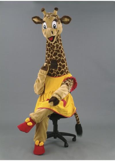 Georgina Giraffe Mascot Costume
