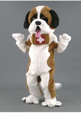 St.Bernard Dog Mascot Costume