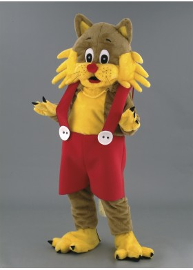 Crazy Cat Mascot Costume