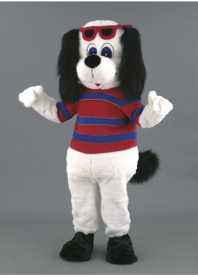 Dave the Dog Mascot Costume