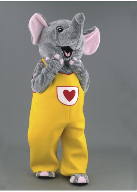 Pippa the Elephant Mascot Costume