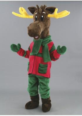 Mervin Moose Mascot Costume