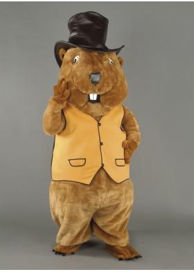Beaver Mascot Costume - Boss Beaver