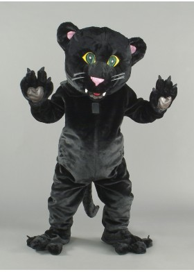 Black Panther Panther Mascot Costume