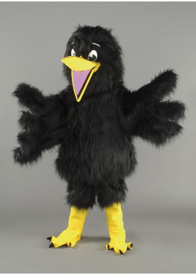 Bertie Blackbird Mascot Costume