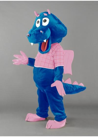 Dipsy Dragon Mascot Costume