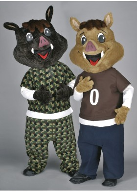 Boar Brothers Mascot Costumes