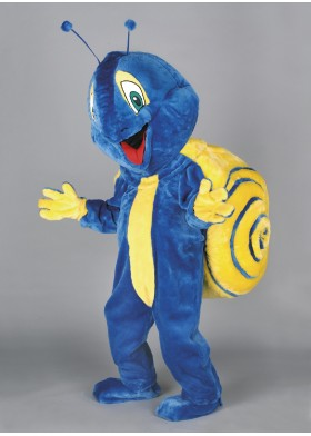 Herbert the Snail Mascot Costume
