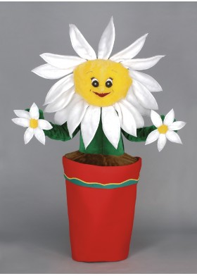 Flower Pot Mascot Costume