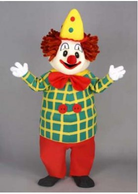 Bobo the Clown Mascot Costume