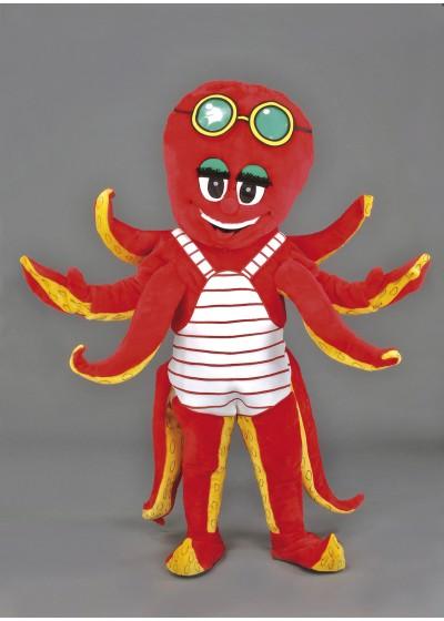 Ollie Octopus Mascot Costume