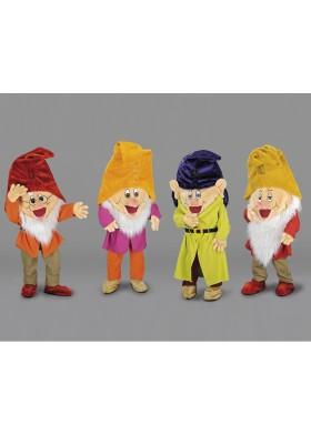 Panto Dwarves Mascot Costume