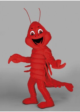 Lenny Lobster Mascot Costume