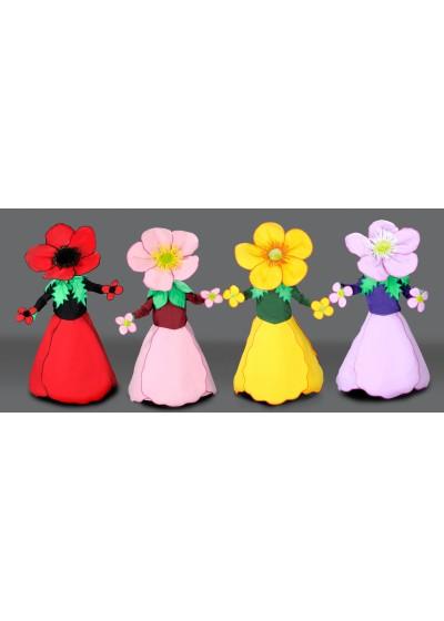 Flower Mascot Costume