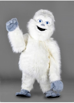Abominable Snowman Mascot Costume