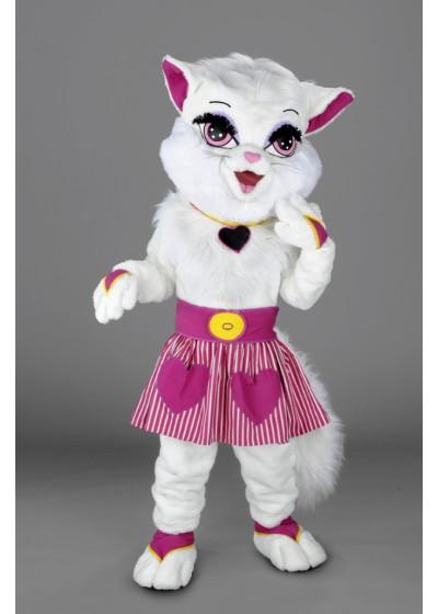 Girl Cat Mascot Costume
