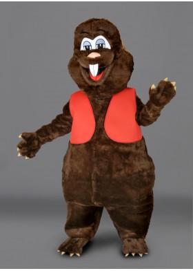 Gary the Gopher Mascot Costume