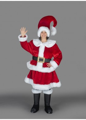 Santa's Helper Mascot Suit