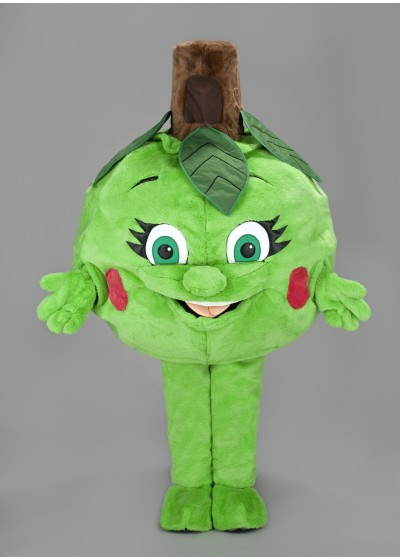 Apple Mascot Costume
