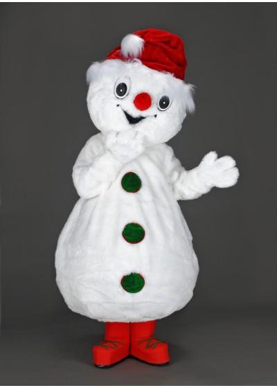 Charlie Snowman Mascot Costume