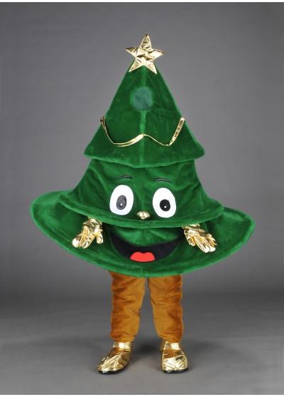 Xmas Tree Mascot Costume