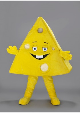 Cheery Cheese Mascot Costume