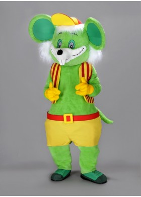 Friendly Mouse Mascot Costume