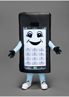 Mobile Phone Mascot Costume