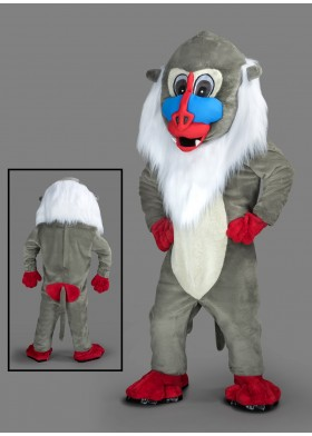 Colouful Monkey Mascot Costume