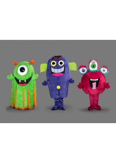 Monster Club Mascot Costumes