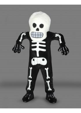 Halloween Skeleton Mascot Costume