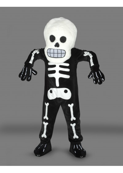 Halloween Skeleton Mascot Costume