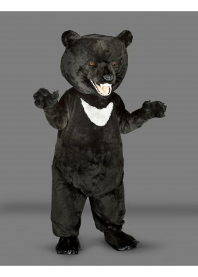 Moon Bear Mascot Costume