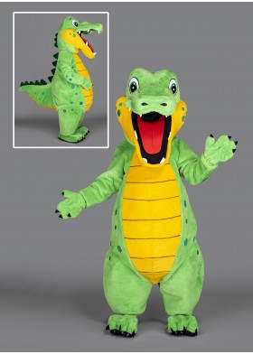 Snappy the Dinosaur Mascot Costume