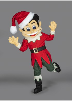 Naughty Elf  Mascot Costume