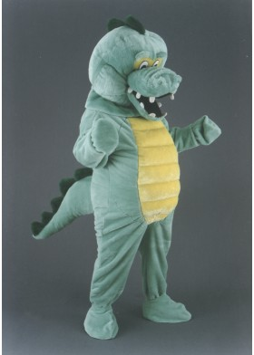 Cuddly Crocodile Mascot Costume