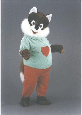 Cuddly Fox Mascot Costume