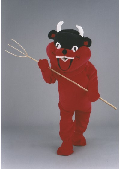 Horny Devil Mascot Costume