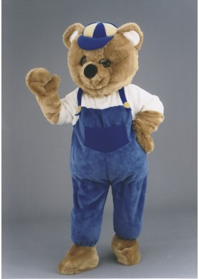 Boy Bear Mascot Costume