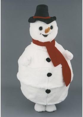 Sammy Snowman Mascot Costume